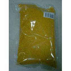 Цветной песок №5 Желтый, 1000 грамм