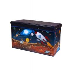 Контейнер для хранения детских игрушек Космос, 61х31х35 см