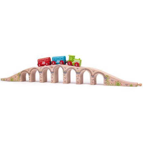 Деревянная игрушка Железнодорожный виадук