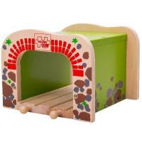 Деревянная игрушка Двойной туннель, для расширения железной дороги
