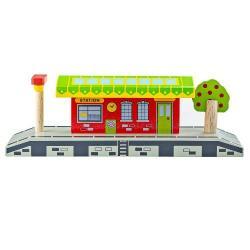 Деревянная игрушка Деревенская станция