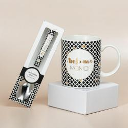 Подарочный набор из кружки и ложки B&G Любимая мама