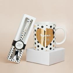 Подарочный набор из кружки и ложки B&G Лучшая дочь