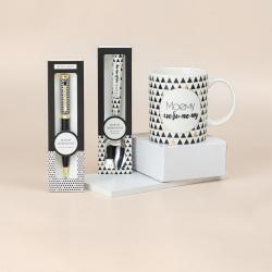 Подарочный набор из кружки, ложки и ручки B&G Моему любимому