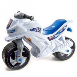 Мотоцикл-каталка 2-х колёсный, полицейский