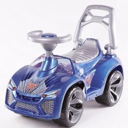 Машина-каталка Ламбо, синий перламутр