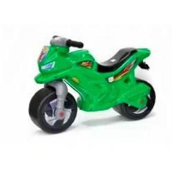 Мотоцикл-каталка, зеленый