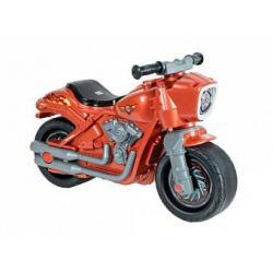 Мотоцикл-каталка Мотобайк, цвет перламутровый коричневый