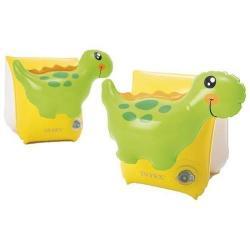 Нарукавники для плавания Динозавр, 23x20 см