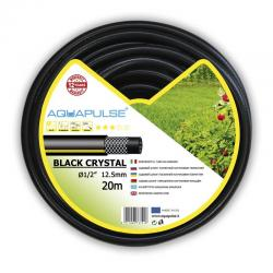 Садовый шланг усиленный Fitt Aquapulse Black Crystal, 1, 50 м