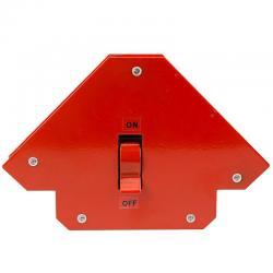 Магнитный угольник-держатель для сварки Rexant, отключаемый, на 3 угла, усилие 23 кг