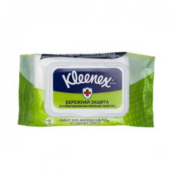 Салфетки влажные Kleenex, антибактериальные, 40 штук