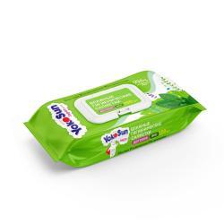 Детские влажные салфетки YokoSun Eco, 100 штук