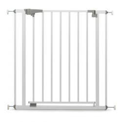 Ворота безопасности дверные (73,5-81 см), цвет белый
