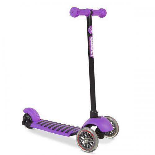 Самокат Glider Deluxe, фиолетовый
