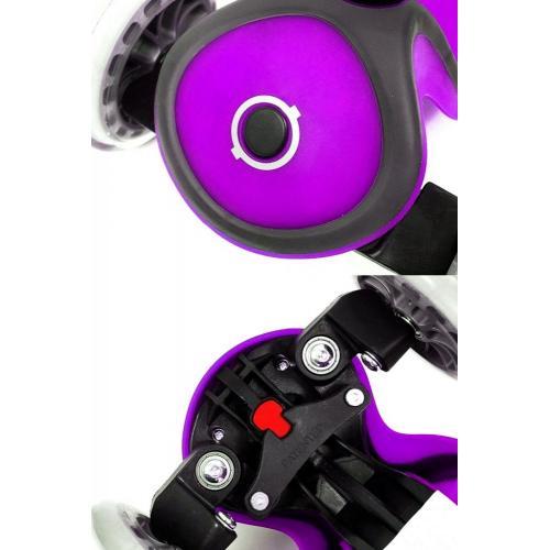 Самокат Globber Primo Plus (2018), цвет фиолетовый