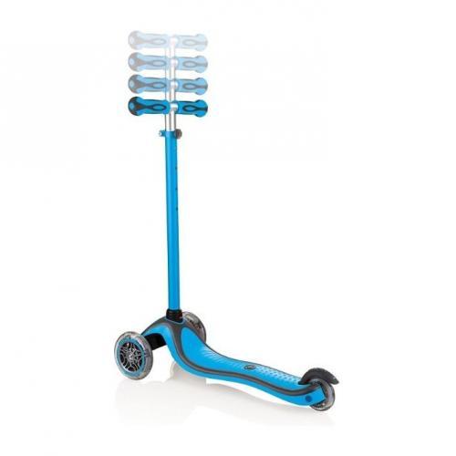 Самокат Globber Primo Plus Lights Color (цвет голубой)