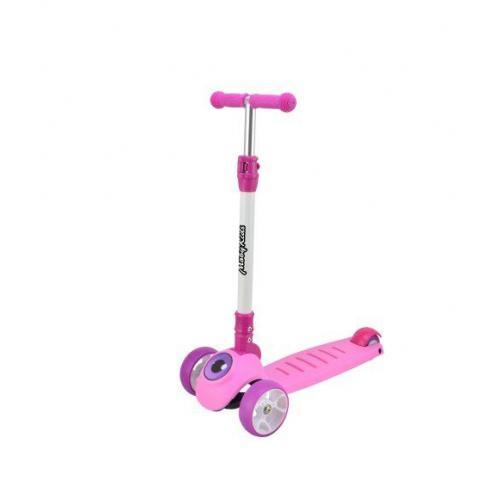 Самокат складной MobyKids, цвет розовый