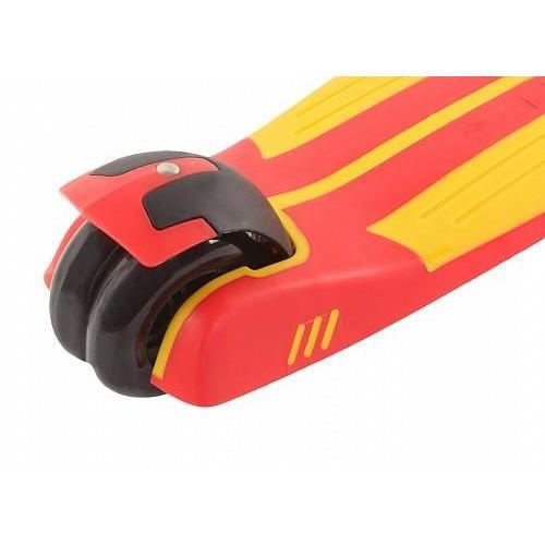 Самокат трехколесный Larsen. Multy Red/Yellow 20