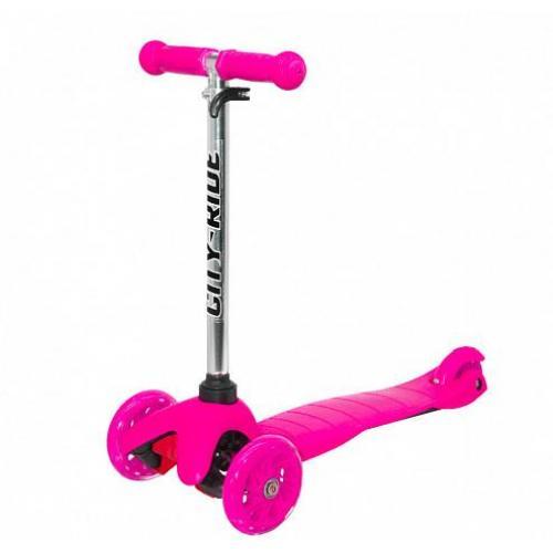Самокат трехколесный City-Ride XD4, розовый