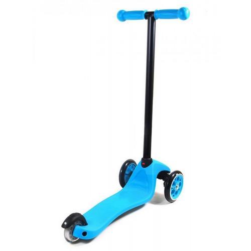 Самокат Globber My free. FIixed, с блокировкой колес, цвет голубой