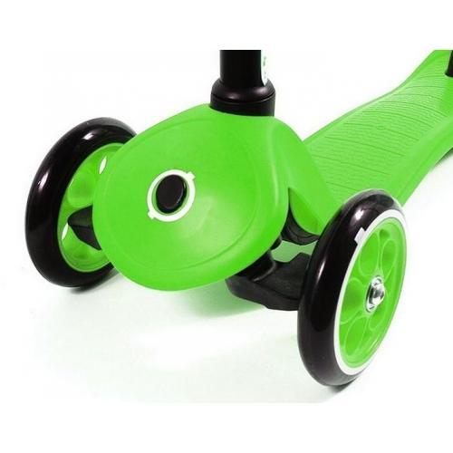 Самокат Globber My free. Fixed, с блокировкой колес, цвет зелёный