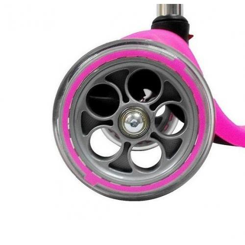 Самокат Globber My free. Fixed, с блокировкой колес, цвет розовый