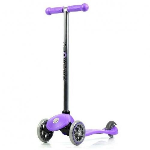 Самокат Globber My free. Fixed, с блокировкой колес, цвет пурпурный