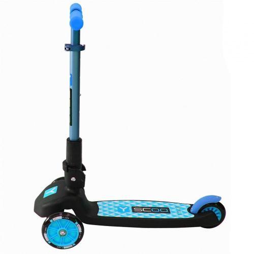 Самокат трёхколёсный Trio Maxi 120, цвет голубой
