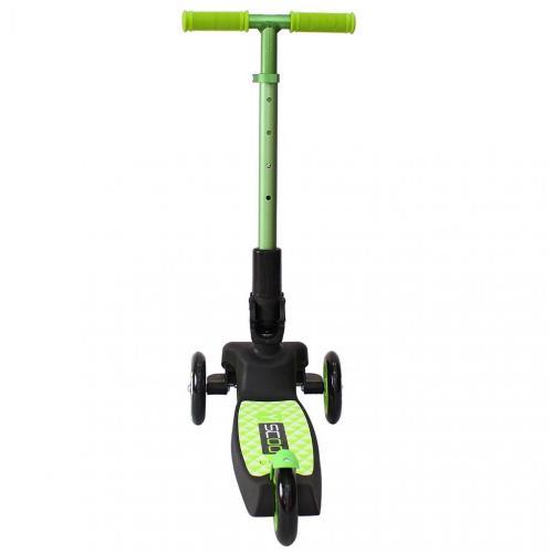 Самокат трёхколёсный Trio Maxi 120, цвет зелёный
