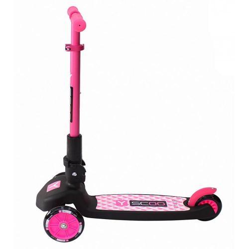 Самокат трёхколёсный Trio Maxi 120, цвет розовый