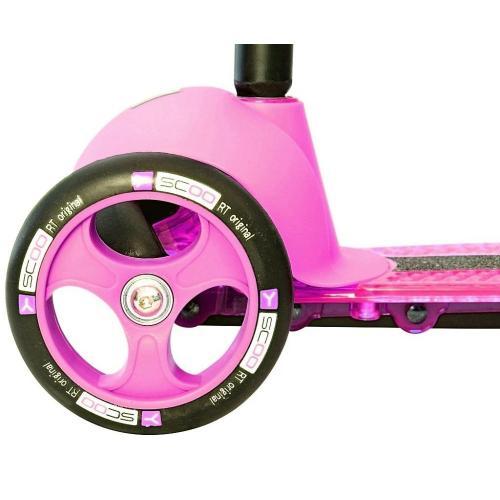 Самокат трёхколёсный Trio Diamond 120, цвет розовый