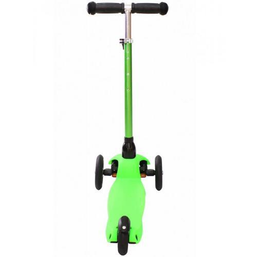 Самокат трёхколёсный Mini Glam Metallic, цвет зелёный