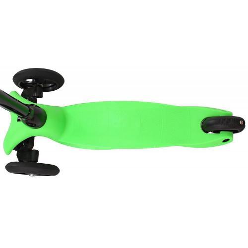 Самокат трёхколёсный Mini Glam, цвет зелёный