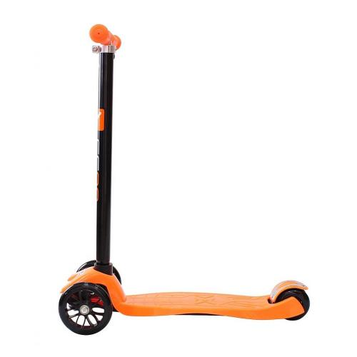 Самокат Maxi Simple A-20, цвет оранжевый