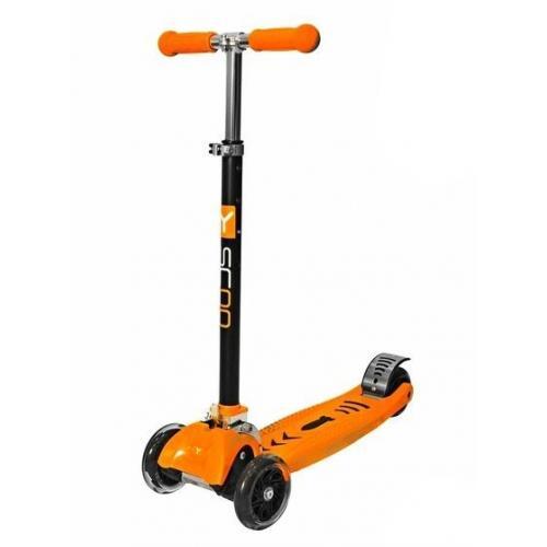 Самокат Maxi City Simple Gagarin, трансформер, цвет оранжевый