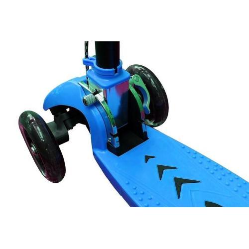 Самокат Maxi City Simple Gagarin, трансформер, с ручным тормозом, цвет голубой