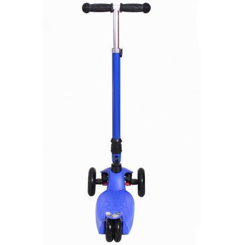 Самокат Maxi Fix Simple, складной, цвет тёмно-синий