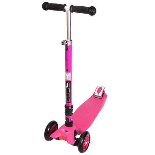 Самокат Maxi Fix Simple, складной, цвет розовый
