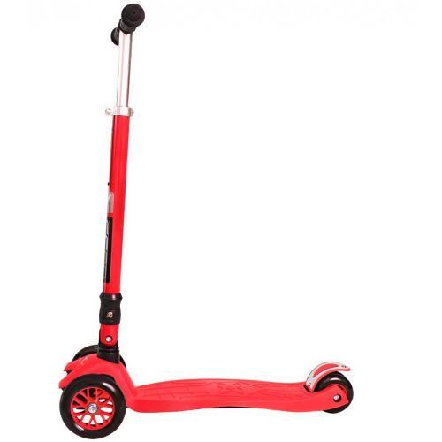 Самокат Maxi Fix Simple, складной, цвет красный