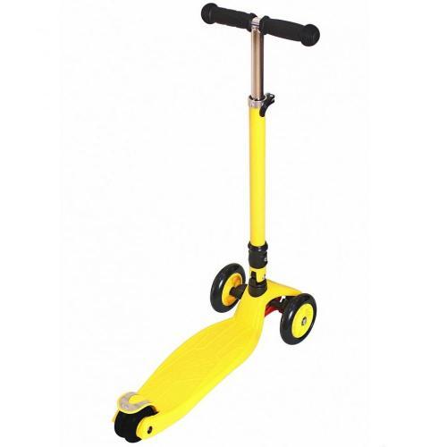 Самокат Maxi Fix Simple, складной, цвет жёлтый