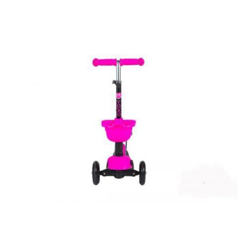 Самокат-каталка Midou-H-2, цвет розовый