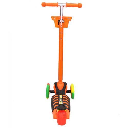 Самокат Midi Orion, с корзинкой, цвет оранжевый