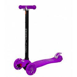 Трехколесный самокат City-Ride XD5, фиолетовый