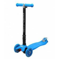 Трехколесный складной самокат City-Ride XD5, синий