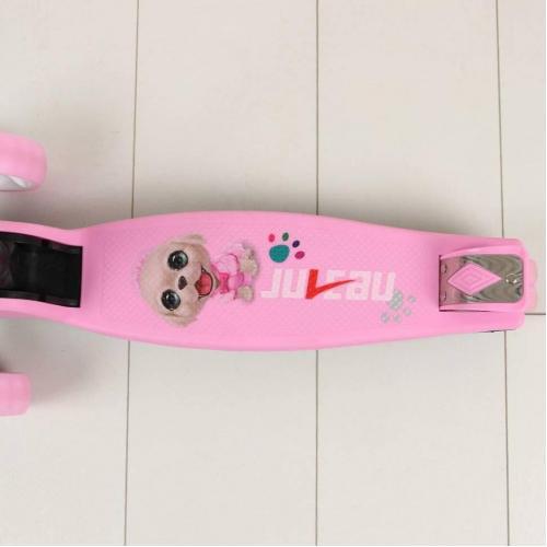 Самокат Moby, цвет розовый