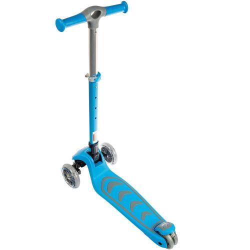 Самокат для детей Kick'n'roll, складной (голубой)