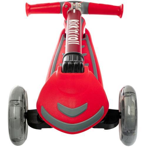 Самокат для детей Kick'n'roll, складной (красный)