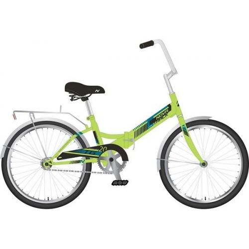 Велосипед складной Novatrack TG-20, колеса 20, цвет зеленый