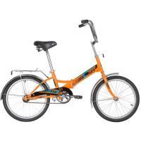Велосипед складной Novatrack TG-20, колеса 20, цвет оранжевый